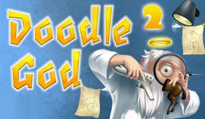 joc cu Doodle Dumnezeu